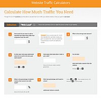 Website Traffic Calculators