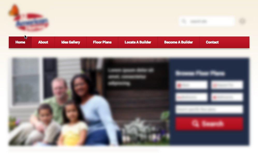 keep your website menu simple