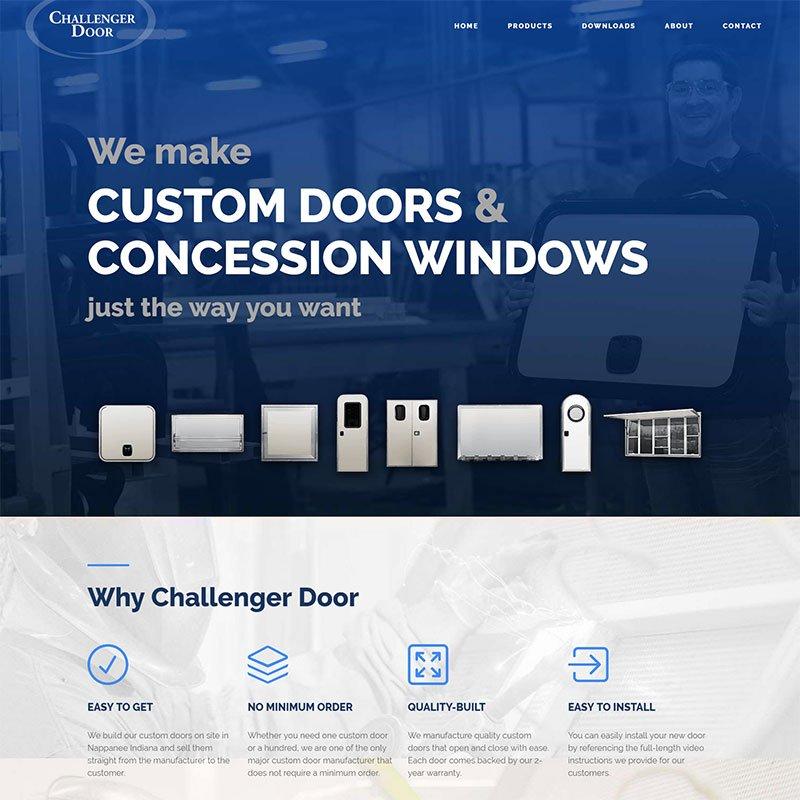 c door page