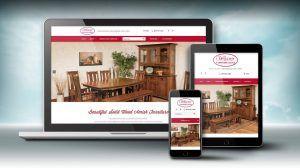 weaver furniture website design