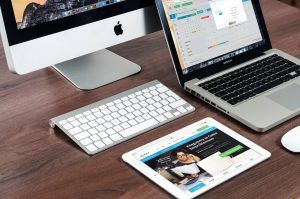 web design on multiple devices