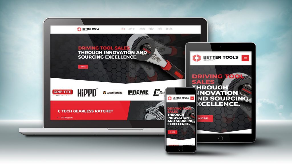 Better Tools website images